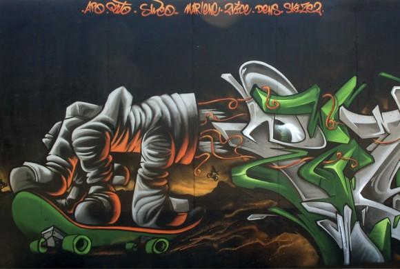 Graffiti serignan 2013